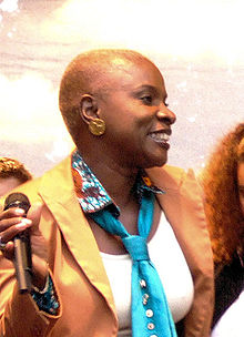 Sultry Singer/Songwriter Angelique Kidjo