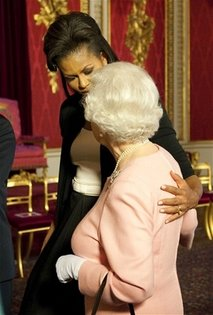 First Lady Michelle Obama Meets Queen Elizabeth